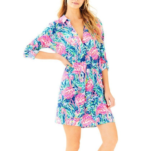 bddf6885f39 Lilly Pulitzer Dresses & Skirts - 🎉HP🎉NWOT Lilly Pulitzer Flamingo Lillith  Tunic